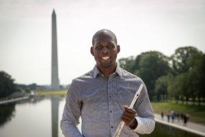 Ceylon Mitchell II, flute, Fall Concert Soloist